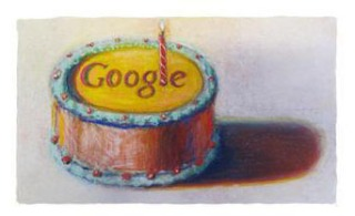 "Google Berusia 12 tahun ""Happy Birthday Google!"""